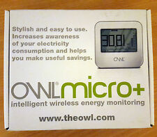 OWL Micro+ Wireless Energy Monitor Electricity Cost for Single and Three Phase