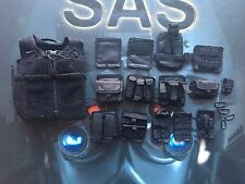 Dragon in Dreams DID British SAS Sean Black Vest & Pouches loose 1/6th scale