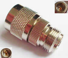 UHF PL259 Male Plug to N Female Jack Straight RF Connector Adapter