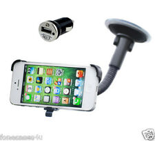 Dedicated Fit-In Car Screen Suction Mount Holder for Apple iPhone 5C Phone + Cha