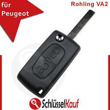 PEUGEOT Klappschlüssel Gehäuse 207 407 208 307 308 BOXER EXPERT Rohling Ersatz