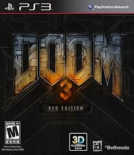Doom 3 BFG Edition (Playstation 3 Region Free Bethesda Classic Big Guns) NEW