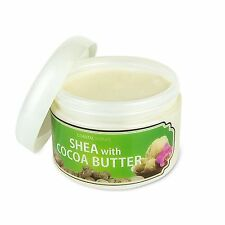 Coastal Scents 100% All Natural Shea with Cocoa Butter for Body and Scalp, New