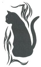 BLACK CAT Temporary Tattoo