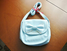 Angelic Pretty Sweet Lolita Sax Blue Pochette Mini Shoulder Bag Purse Used
