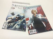 ASSASSINS CREED THE FALL#1 & 3 (DC/2011/GAMESTOP VARIANT/MOVIE/1216128) SET OF 2