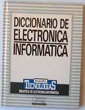 DICCIONARIO DE ELECTRÓNICA / INFORMÁTICA - NUEVAS TECNOLOGÍAS - VER DESCRIPCIÓN