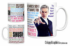 DR WHO MUG - PETER CAPALDI - 12th Doctor Quotes