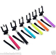Selfie Stick With 3.5mm Aux Cable Extendable Handheld For Iphone