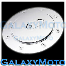 07-14 Chevy Suburban+Tahoe+Avalanche Triple Chrome Fuel Gas Cap Tank Door Cover
