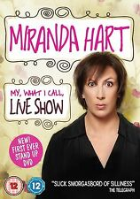 MIRANDA HART MY WHAT I CALL LIVE SHOW FIRST STANDUP BBC UK 2014 DVD NEW & SEALED