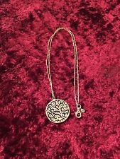 Silpada Sterling Silver A Cut Above Filigree Disc Pendant Chain Necklace N2328