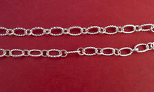 925 silver cable chain for jewelry making, 10x7mm,