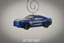 2015 Custom Ford Mustang GT Christmas Ornament 1/64 Adorno Emblem Coupe Race Car