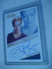 SEVEN OF NINE Voyager Autograph Tradingcard QUOTABLE 09 Rittenhouse AUTO J.RYAN