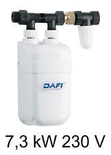 Chauffe eau instantané DAFI 7,3 kW 230V avec connecteur (monophasé) !+!