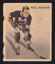 1933-34 V357 Ice Kings Montreal Maroons Hockey Card #6 Paul Haynes RC