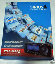 Sirius Xm starmate 6 radio + Car kit - Brand New Factory Sealed - Free Shipping