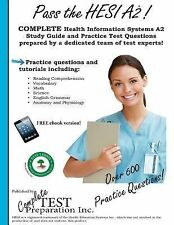 Pass the HESI A2 by Complete Test Preparation Team (2012, Paperback, Study...