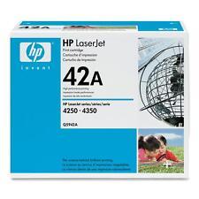 ORIGINAL HP TONER Q5942A SCHWARZ  LASERJET 4250 4350 neu A-Ware