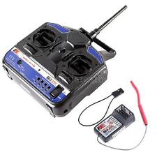FS 2.4G 4CH Radio Model RC Transmitter & Receiver for Aircraft Quadcopter W9D0