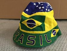CAPPELLO MODELLO PESCATORE BRASILE CAPPELLINO HAT
