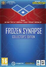 FROZEN SYNAPSE COLLECTOR'S EDITION PC AND MAC DVD BRAND NEW AND SEALED
