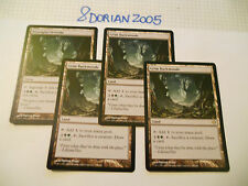 4x MTG Boscaglia Orrenda-Grim Backwoods Magic EDH DA Dark Ascension ITA-ING x4