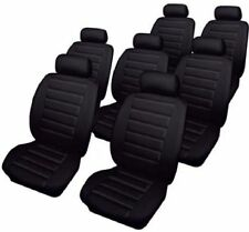 Cosmos Volkswagen VW Sharan Leatherlook Car Seat Covers Black 66573
