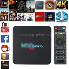 4K Amlogic S905X Quad Core Android 6.0 Smart TV Box 2.4G WIFI 1080P Media Player