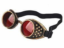 HOT WELDING CYBER GOGGLES GOTH STEAMPUNK COSPLAY PARTY GOTH ANTIQUE VICTORIAN