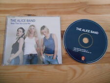 CD Pop Alice Band - Now That You Love Me (2 Song) Promo INSTANT KARMA
