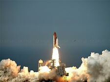 SHUTTLE ENDEAVOUR FROM LAUNCH PAD KENNEDY SPACE CENTER ART PRINT POSTER 391PYA