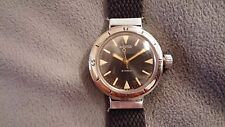 Vintage Vostok Amphibian 2209 Wristwatch Hinged Lugs Great Condition USA Seller