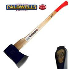 CALDWELLS FELLING AXE CHOPPER HATCHET ASH HANDLE4.5 lb KINDLING LOG SPLITTER