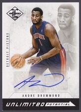 Andre Drummond 12-13 Panini Limited #19 (Unlimited Potential) RC AUTO 024/199