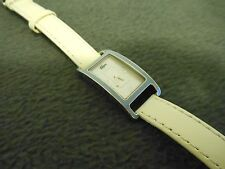 NEVER WORN- WOMENS STAINLESS MOTHER OF PEARL 3ATM LACOSTE QUARTZ WATCH- NEW BATT