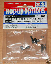 Tamiya 54075 TB-03 Flourine rivestito BALL HEAD King Pin TA05IFS / FF03 / TRF416 / TRF417