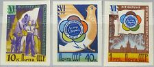 Russia Unione Sovietica 1957 1945 1948 1949 B 6th World Youth Festival Moscow MNH