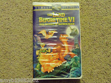 Universal The Land Before Time VI: The Secret of Saurus (VHS, 1998, Clamshell)