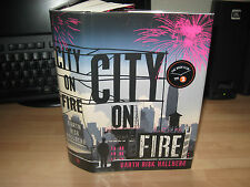Garth Risk Hallberg City on Fire *Signed Numbered 15/100 1st debut American epic