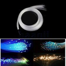20X 1mm * 2M PMMA Plastique Fibre optique Câble Fin Lueur LED Lumière DIY BA