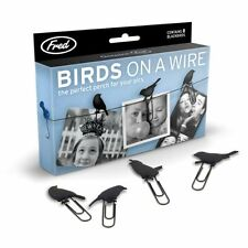 BIRDS ON A WIRE Picture Hangers, Set of 8 , New, Free Shipping