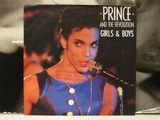 "PRINCE - GIRLS & BOYS / UNDER THE CHERRY MOON 45 GIRI 7"" ITALY VG+/VG+"