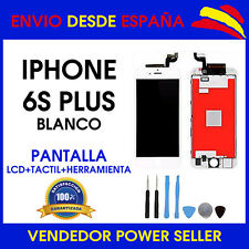 PANTALLA PARA IPHONE 6S PLUS LCD + TACTIL BLANCO TOUCH DISPLAY AAA+ 24 HORAS