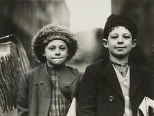 Newsies, Joseph and Rosy, 10 and 8 years old New Jersay Kinder USA Photo M 129