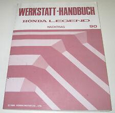 Werkstatthandbuch Honda Legend Typ KA7 / KA 8 / KA 7 / KA 8 Ausgabe 1990!