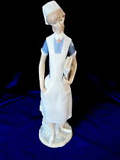 LLADRO #4603 NURSE BRAND NEW IN BOX FEMALE MEDICINE PROFESSION LARGE GLOSS F/SH