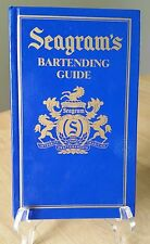Seagram's Bartending Guide Book 1995 Blue Cover