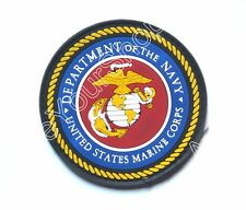 Department Of The Navy United States Marine Corps Parche Rubber Hook Loop Patch
